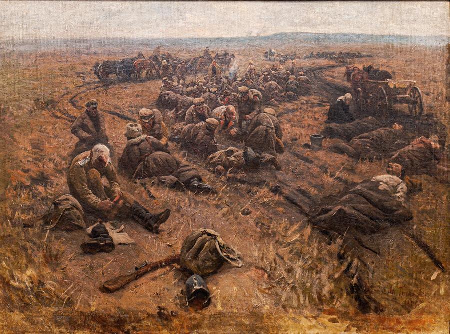 Выставка о Гражданской войне в Крыму. Картина