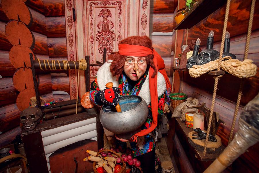Дом сказок открылся в Алтайском крае, Баба-яга