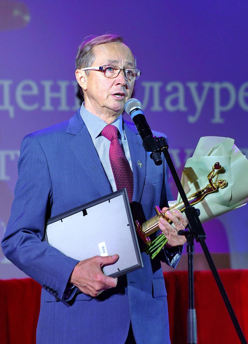Торжественная церемония Премии «На Благо Мира»-2020, Николай Бурляев